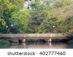 the evening bridge | Shutterstock . vector #402777460
