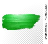 Vector Green Watercolor Brush...