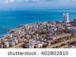 Panoramic Aerial View Of Haifa...