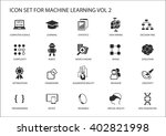 smart machine learning vector... | Shutterstock .eps vector #402821998