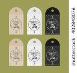 advertising sticker badge... | Shutterstock .eps vector #402843076