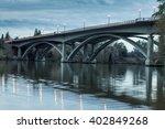 Folsom Auburn Bridge Hdr With...