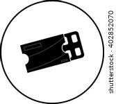 chewing gum blister pack symbol | Shutterstock .eps vector #402852070