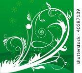 floral background | Shutterstock .eps vector #40287139