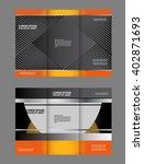 professional business flyer ... | Shutterstock .eps vector #402871693