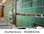 desk against close up of a... | Shutterstock . vector #402883246