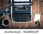 typewriter | Shutterstock . vector #402883639