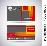 presentation card design  | Shutterstock .eps vector #402888934