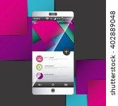 mobile template  design
