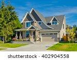 big custom made luxury house...   Shutterstock . vector #402904558