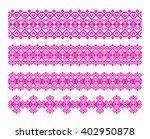 set of border patterns. menu...   Shutterstock .eps vector #402950878