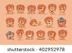 set vector stock illustrations... | Shutterstock .eps vector #402952978
