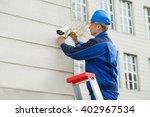 mature male technician...   Shutterstock . vector #402967534