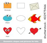simple geometric shapes for... | Shutterstock .eps vector #402975466