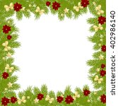 christmas card background... | Shutterstock . vector #402986140