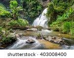 Pha Dok Seaw Waterfall In Mae...