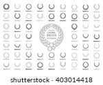 laurel wreath icon vector.