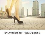 black heels  | Shutterstock . vector #403015558