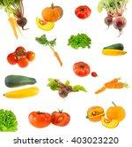 the collection of photos fresh... | Shutterstock . vector #403023220
