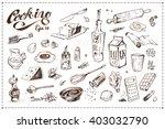 Set Of Artistic Doodles ...