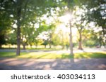 Defocused Bokeh Background Of...