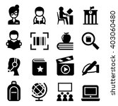 library icon | Shutterstock .eps vector #403060480