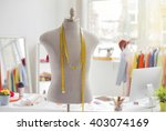 tailors office  | Shutterstock . vector #403074169
