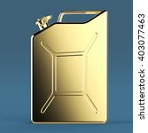 Glossy Golden Jerry Can Fuel...
