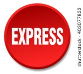 express red round flat isolated ... | Shutterstock .eps vector #403077823