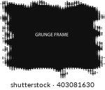 halftone frame background  ... | Shutterstock .eps vector #403081630