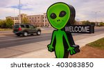 roswell  new mexico   march 28  ...   Shutterstock . vector #403083850