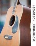 guitar   Shutterstock . vector #403104394