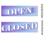 "vector eps 10. ""we are closed... 