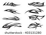 tribal tattoo | Shutterstock vector #403131280