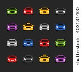 car icons  | Shutterstock .eps vector #403131400