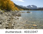 Autumn View Of The Shoreline Of ...