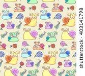 vector illustration  seamless... | Shutterstock .eps vector #403141798