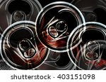 can tops and ring pulls.... | Shutterstock . vector #403151098