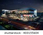 3d rendering   food court  ... | Shutterstock . vector #403155604
