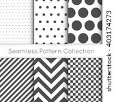 seamless pattern collection... | Shutterstock .eps vector #403174273
