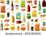 vector illustration of various... | Shutterstock .eps vector #403183054