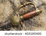 ephesus antique swords on the... | Shutterstock . vector #403185400