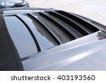 sport car carbon hood | Shutterstock . vector #403193560