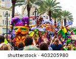 new orleans usa feb 1 2016 ... | Shutterstock . vector #403205980