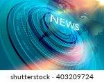 graphical modern digital world... | Shutterstock . vector #403209724