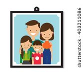 family   vector illustration  | Shutterstock .eps vector #403211086