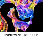 colors in us series. abstract... | Shutterstock . vector #403211344