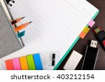 Notebook  Paper Note And Usb...