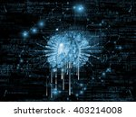 in fourth dimension series.... | Shutterstock . vector #403214008