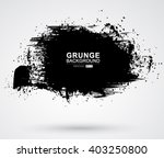 vector figured brush strokes... | Shutterstock .eps vector #403250800